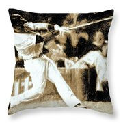 The Show Iv Throw Pillow
