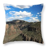 The Show Low Route Throw Pillow