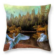 The Showoff Throw Pillow