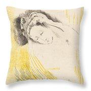 The Shulamite  Throw Pillow