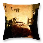 The Sick Violinist Throw Pillow