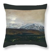 The Sierra De Guadarrama Throw Pillow
