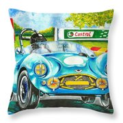 The Sight Sound And Smell Of Yesteryear Throw Pillow