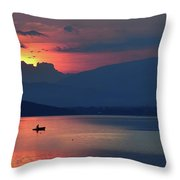 The Silence In Me... Throw Pillow