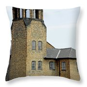 The Silk Mill - Derby Throw Pillow