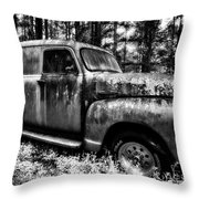 The Silver Ghost Throw Pillow