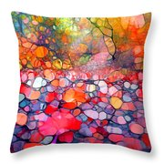 The Simple Dreams Of Fallen Leaves Throw Pillow