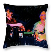 The Simpson Brothers Throw Pillow