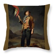The Singer Chenard Throw Pillow