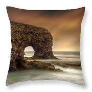 The Sky And The Arch Throw Pillow