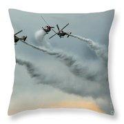 The Sky Ballet Throw Pillow