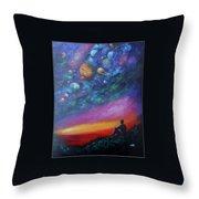 The Sky Throw Pillow