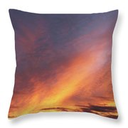 The Sky How It Moves Me Throw Pillow
