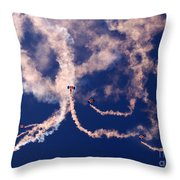 The Sky Painting Throw Pillow
