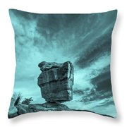 The Sky Seemed To Be Imperturbable At First.  Throw Pillow