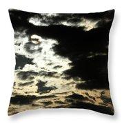 The Sky Speaks Throw Pillow