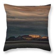 The Sleeping Giant Sunspot Pano Throw Pillow