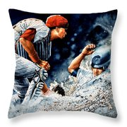The Slide Throw Pillow