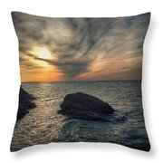 The Slow Dance Throw Pillow