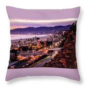 The Slow Drive Home Throw Pillow