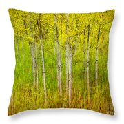 The Small Forest Throw Pillow