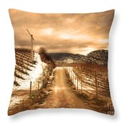 The Small Hill Throw Pillow
