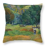 The Small Valley Throw Pillow