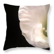 The Smallest Petals Throw Pillow