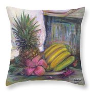 The Smell Of South East Asia Throw Pillow