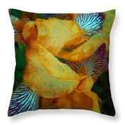 The Smell Of The Rain Throw Pillow