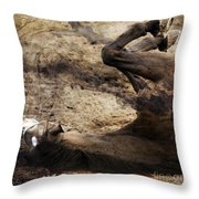 The Smell Of The Soil Throw Pillow