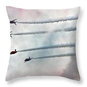 The Smokemakers Throw Pillow
