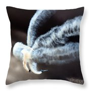 The Smokers  Throw Pillow
