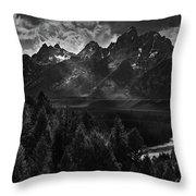 The Snake River Throw Pillow