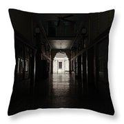 The Snell Arcade Throw Pillow