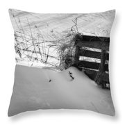 The Snow Gate  Throw Pillow