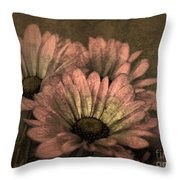 The Soft Glow Of Spring Throw Pillow