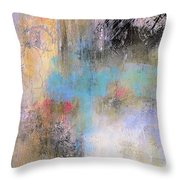 The Soft Place Throw Pillow