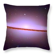 The Sombrero Galaxy M104 Throw Pillow