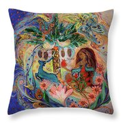 The Song Of Songs. Day Throw Pillow