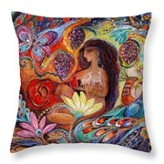 The Song Of Songs Throw Pillow