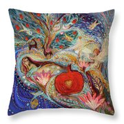 The Song Of Songs. Night Throw Pillow