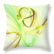 The Song Of The Sun Throw Pillow