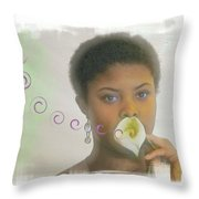 The Song Throw Pillow