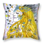The Soothsayer Throw Pillow