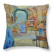 The Souk Throw Pillow