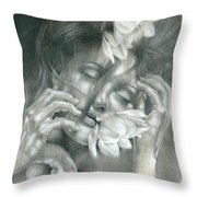 The Soul Hovers Above All The Horizons Throw Pillow