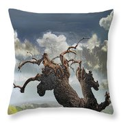 The Soul Of A Tree Throw Pillow
