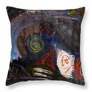 The Soul Wants To Experience Everything  Throw Pillow