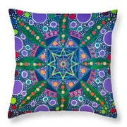 The Sound Of A Germinating Seed Throw Pillow